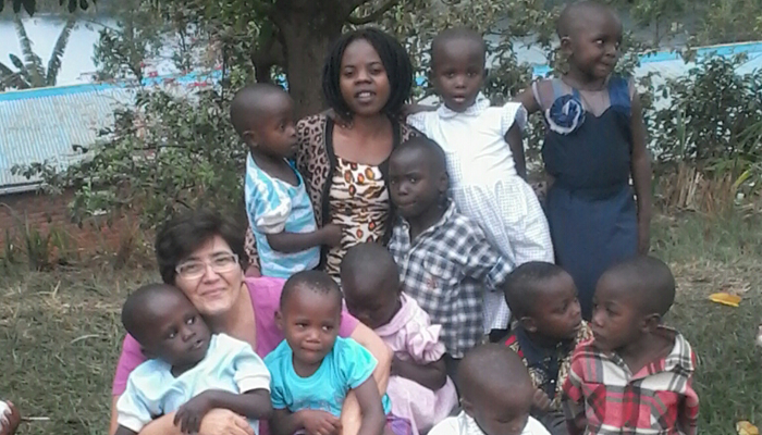 La testimonianza della volontaria Rosa in Kongo