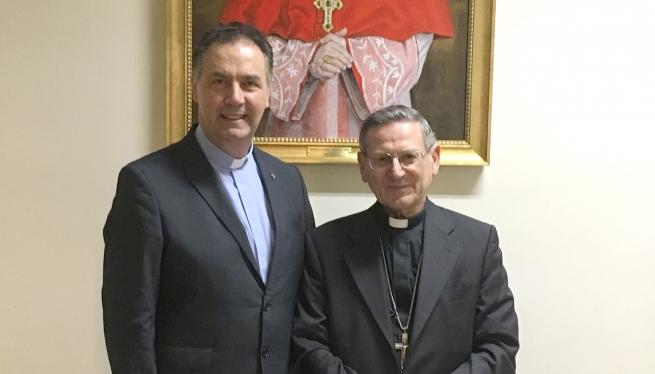 (ANS) Vaticano – Il Rettor Maggiore ringrazia il Cardinale Angelo Amato