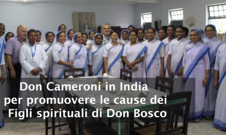 (ANS) India – Promozione delle cause salesiane: il viaggio di don Cameroni