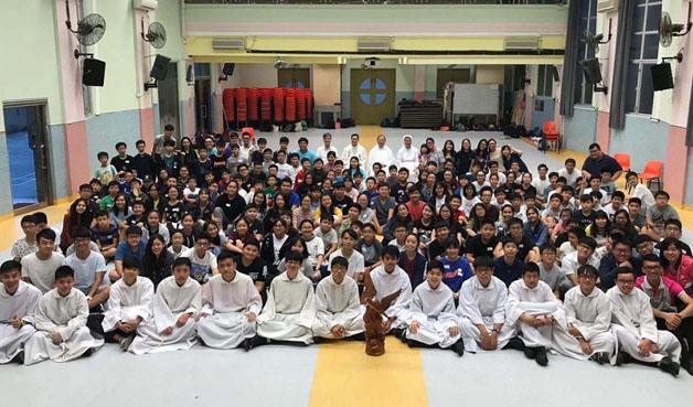Hong Kong – Incontro degli allievi delle scuole della Famiglia Salesiana
