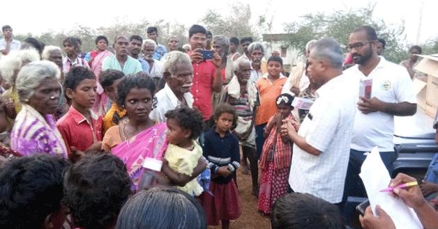 India – I Salesiani solidali con la popolazione colpita dal ciclone Gaja
