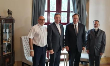 Panama – Il Presidente della Repubblica di Panama riceve il Rettor Maggiore