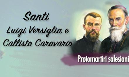 Santi Luigi Versiglia e Callisto Caravario, Protomartiri salesiani