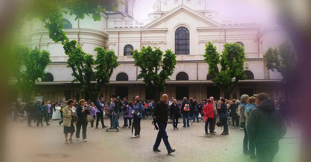 La Famiglia Salesiana in pellegrinaggio in compagnia dei santi