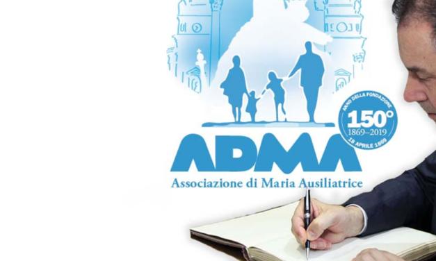 Lettera del Rettor Maggiore in occasione del 150° di fondazione dell'ADMA