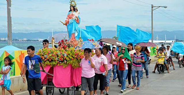 Filippine – Un santuario di Maria Ausiliatrice nell'Isola di Olango