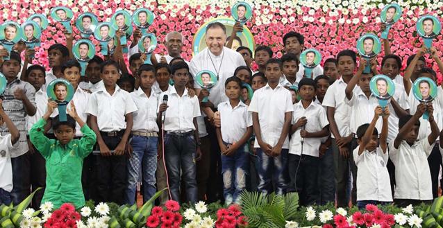 """India – Il Rettor Maggiore nell'Ispettoria di Chennai, """"la terra dei salesiani"""""""